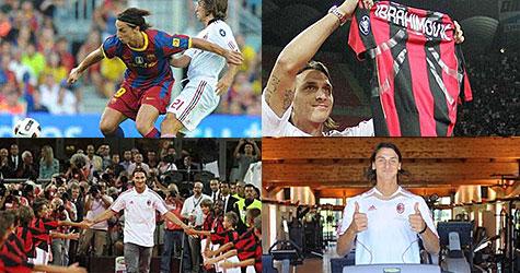 Kung Zlatan flyttar tillbaka till Milano